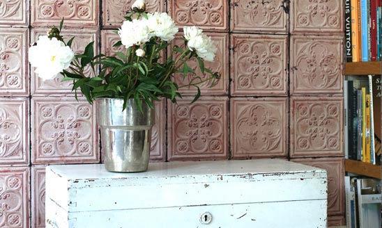 Tapeten Blumenmuster Lila : Wohnzimmer Tapeten Lila Blumenmuster Creme Akzente Kontraste Ganesha