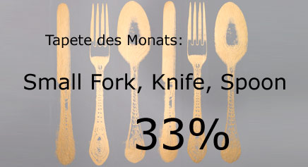 Unsere Tapete des Monats September 2016, Tracy Kendall Small Fork