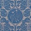 Tapeten: Woodland Story, porcelaine blue