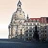 Tapeten: Dresden Frauenkirche | Luthers Light | Ingo Krasenbrink Design