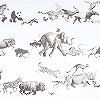 Tapeten: Animals, col.01