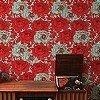 Tapeten: RoseFlower, poppy red