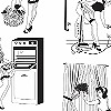 Tapeten: 50`s Housewives