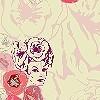 Tapeten: Foxy Flowers, col.02