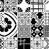 Tapeten: Mixed Tiles