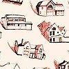 Tapeten: HOUSES, col. 01