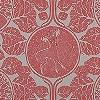 Tapeten: Woodland Story, peach red