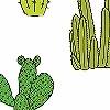 Tapeten: Cactus