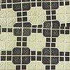 Tapeten: London Tile, olive green