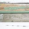 Tapeten: Holzstücktapete, Grün