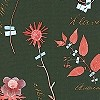 Tapeten: Botanicals, emerald