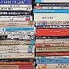 Tapeten: Paperbacks, white