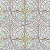 Tapeten: Papertiles, buttercup blue