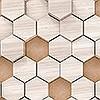Tapeten: Woodcomb Nude