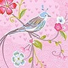 Tapeten: Birds in Paradise, col.10