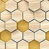 Tapeten: Woodcomb Birch