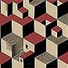 Tapeten: Cube, col. 50