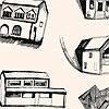 Tapeten: HOUSES, col. 02