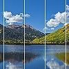 Tapeten: Crystal Lake View