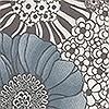 Tapeten: Anemones col.04