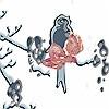 Tapeten: Spring Flower Rain