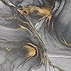 Tapeten: Ink Gold Flow