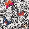 Tapeten: Butterfly Garden, col.01