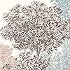 Tapeten: Painted Trees