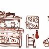 Tapeten: Meine kleine Werkstatt, Komplett-Motiv