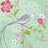 Tapeten: Birds in Paradise, col.03