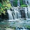 Tapeten: Fototapete Purakaunui Falls