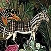 Tapeten: Menagerie of Extinct Animals, col. 1