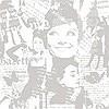 Tapeten: Audrey Hepburn