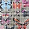 Tapeten: Butterfly House, col.01