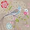 Tapeten: Birds in Paradise, col.04