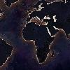 Tapeten: the-world-map-night