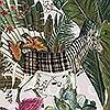 Tapeten: Menagerie of Extinct Animals, col. 2