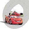 Tapeten: Cars Racetrack
