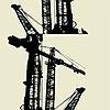 Tapeten: Crane, col. 09