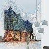 Tapeten: Hamburg Elbphilharmonie - Type Expression - Ingo Krasenbrink Design
