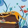 Tapeten: Unterwasserwelt Motiv, col. 01