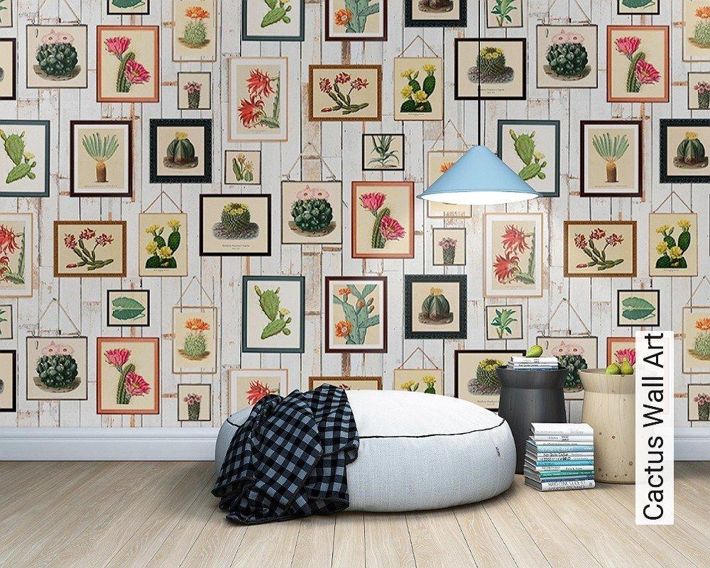 tapete cactus wall art die tapetenagentur. Black Bedroom Furniture Sets. Home Design Ideas