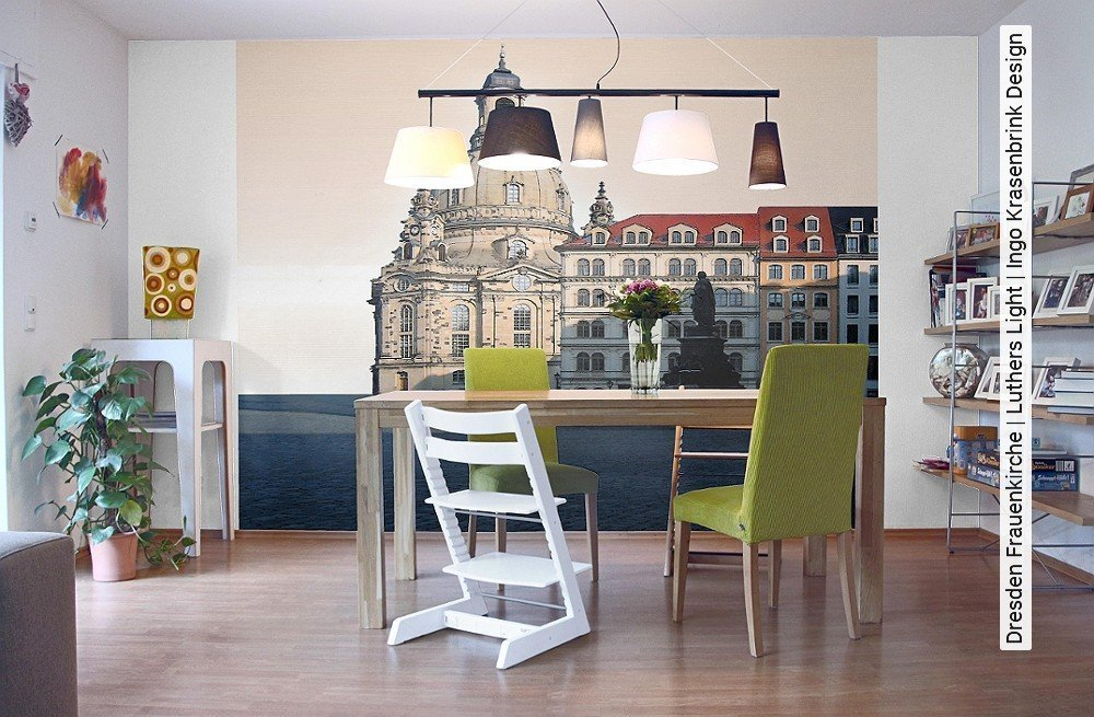 tapete dresden frauenkirche luthers light ingo. Black Bedroom Furniture Sets. Home Design Ideas
