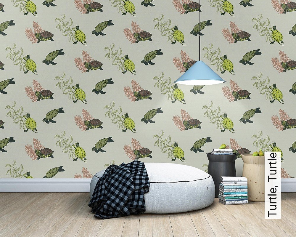 tapete turtle turtle die tapetenagentur. Black Bedroom Furniture Sets. Home Design Ideas