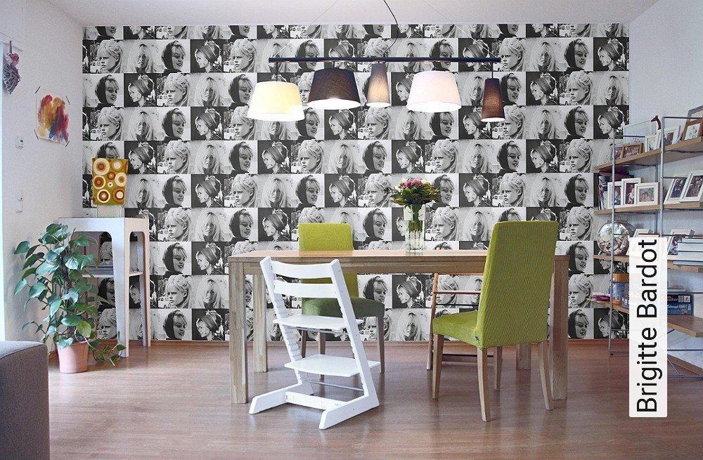 tapete brigitte bardot. Black Bedroom Furniture Sets. Home Design Ideas