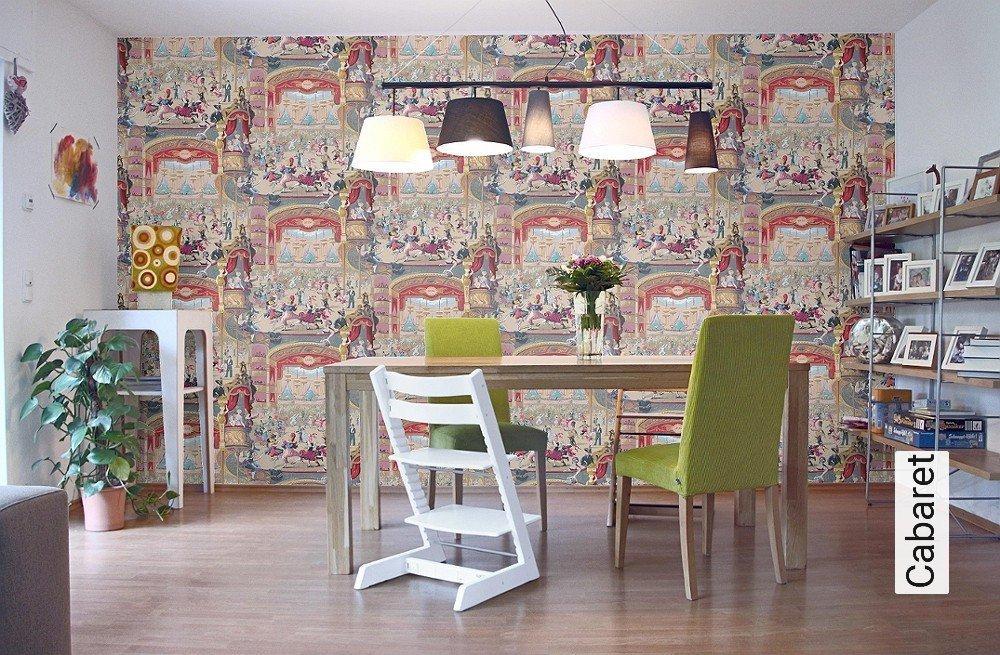 tapeten cabaret. Black Bedroom Furniture Sets. Home Design Ideas