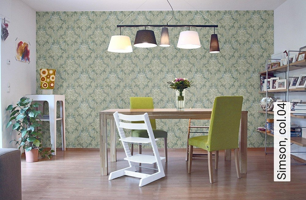 tapete simson. Black Bedroom Furniture Sets. Home Design Ideas