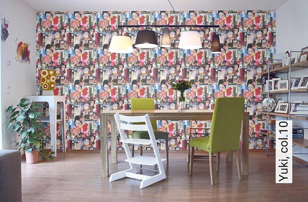 tapete yuki. Black Bedroom Furniture Sets. Home Design Ideas