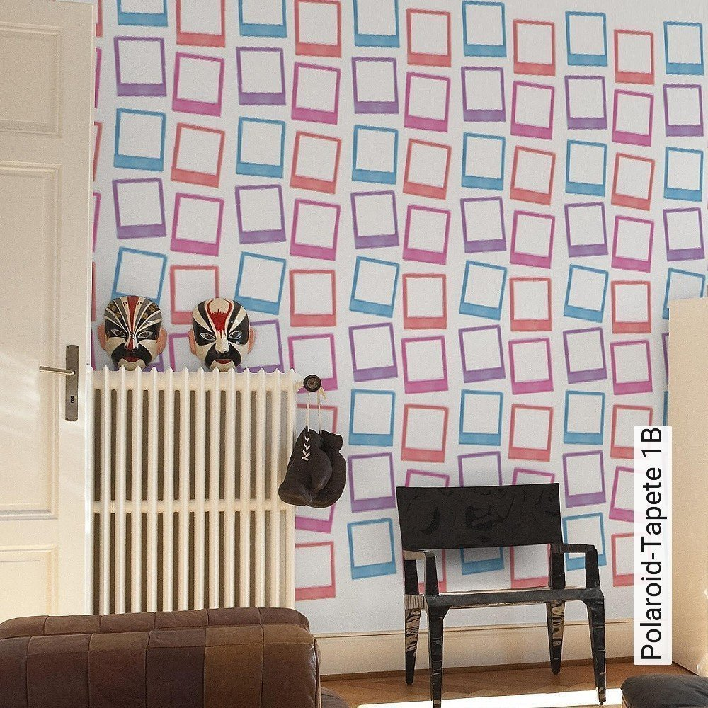 tapete polaroid tapete 1b konstantin nemerov die tapetenagentur. Black Bedroom Furniture Sets. Home Design Ideas