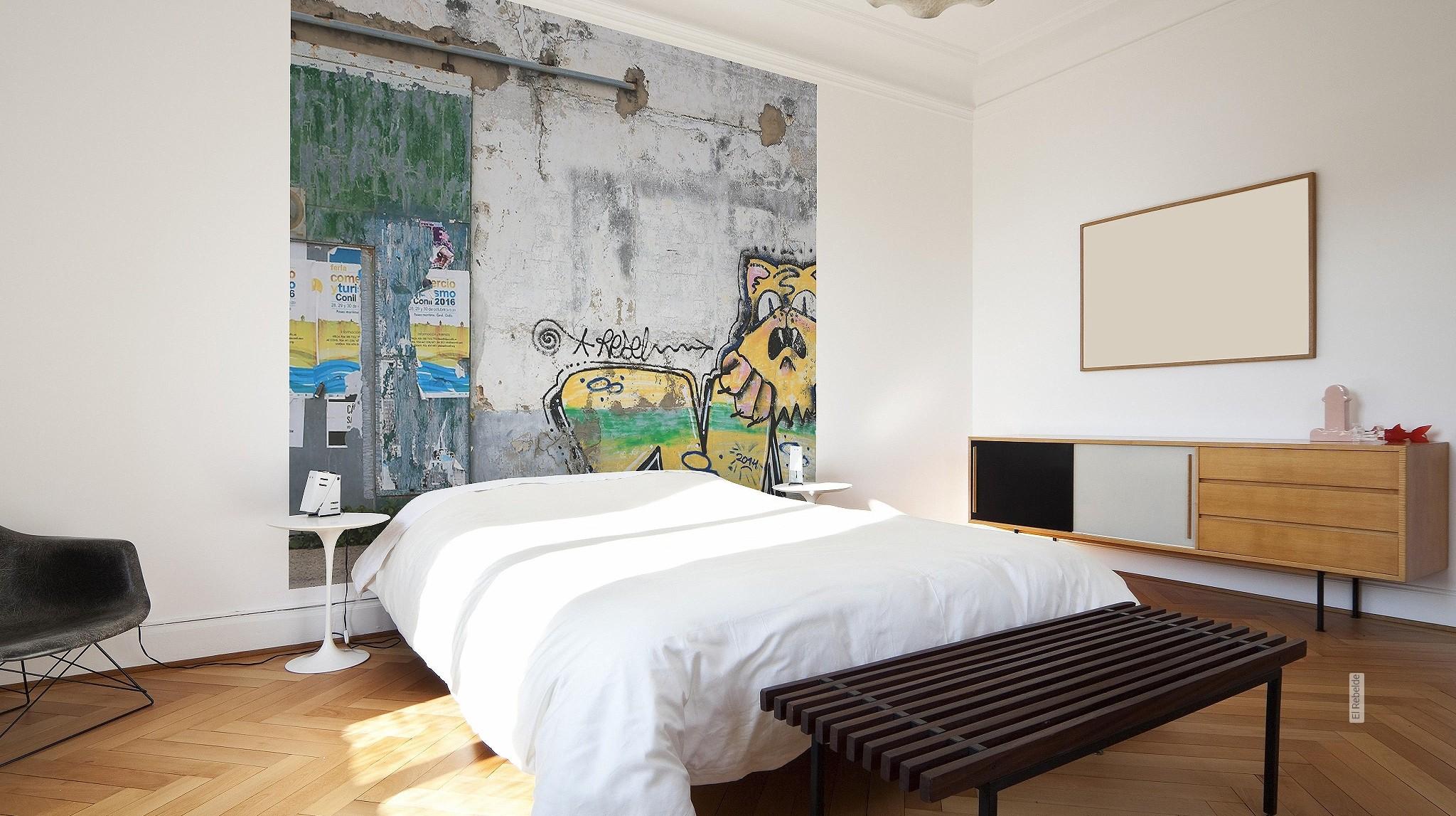 gelbe tapeten f r freundliche und heitere r ume. Black Bedroom Furniture Sets. Home Design Ideas